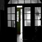 Green door... by Kasia Fiszer