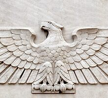 Architectural Eagle Detail on a Federal Building, Camden, New Jersey by Carol M.  Highsmith