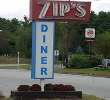 Zip's Diner Sign by gailrush