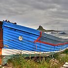 Lindisfarne Fishing Boat by David Tait