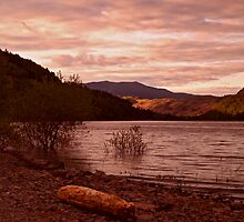 Evening at Thirlmere 2 by WatscapePhoto