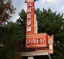 Red Arrow Diner, Manchester, NH by gailrush