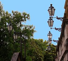 Lamps on the Villa of Monza by sstarlightss