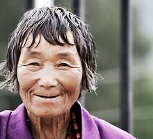 A Smile from Bhutan by Chetan R