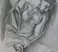 Caravaggio study by Jedika