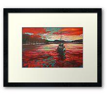 Bellanoch Boats Framed Print