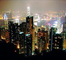 Hong Kong by Glennis  Siverson