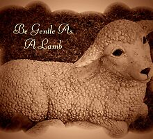 Gentle As A Lamb by Marie Sharp