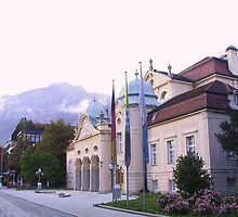 Building Theater Bad Reichenhall by Daidalos