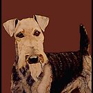 Airedale Terrier by Zehda