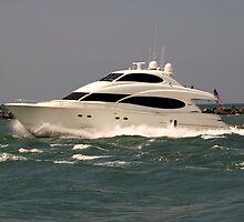 Lotta Yacht by Donna Adamski
