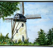 Flanders Mill by inker1