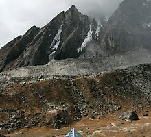 Himalayan Pyramid by Richard Heath