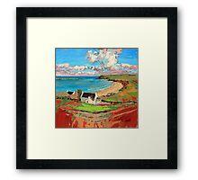 Bay At Trotternish Framed Print