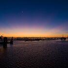 Cape Town Harbour by Slavi Barnev