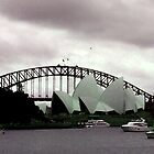 Sydney Opera House, vintage colors by WhoTLEoyd
