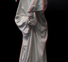 [3d Anaglyph] Plague doctor by zolim