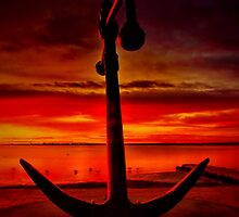 """""""The Anchor Holds in spite of the storm"""" by Phil Thomson IPA"""