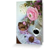 Coffee table Greeting Card