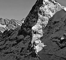 Eiger North Wall by Warren Krynie