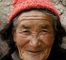 Ladakhi Woman by Chetan R