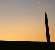 Paris - Concorde sunset. by Jean-Luc Rollier