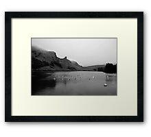 St Margaret's Loch - Holyrood Park Framed Print