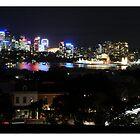 North Sydney & Harbour Bridge by ivanwillsau