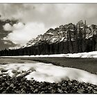 Bow River Mono by Robert Mullner