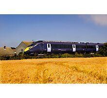 High Speed Train Photographic Print