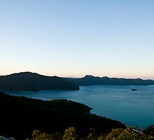 Cooks lookout at Hayman Island by Claire Haslope