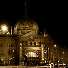 Flinders Street Station by Jazzyjane