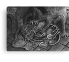 The Dragon Smaug Canvas Print