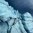 Stormy ice buttresses by LichenRockArts