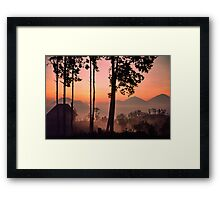 Kintimani, Bali Framed Print