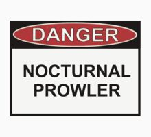 Danger - Nocturnal Prowler by Ron Marton