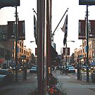 SPLIT STREET VIEW REFLECTION by Scott  d'Almeida