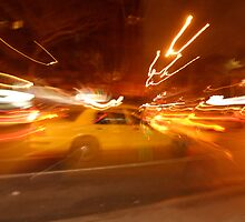 bright lights, big taxi by dorisandfred