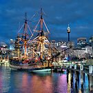 Fantasy Voyager - HMB Endeavour- The HDR Experience by Philip Johnson