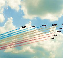 The Red Arrows  by StephanieHadley
