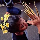 Fingernail dancer, Chiang Mai by John Spies