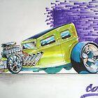CARTOON CAR by thekornerstone