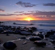 Dawn at Lamberts Beach 2 by AnnieD