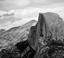 Half Dome in the Distance by GesturesPhoto