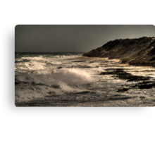 The Wild Sea.... Canvas Print