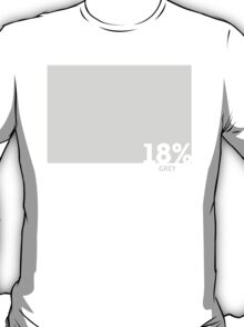 18% Grey Test Tee T-Shirt