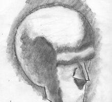 Beginings Of A 3-D Skull by justgetnstarted