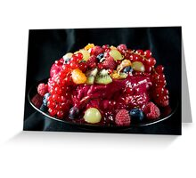 Abundance of fruit Greeting Card