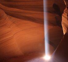 Slot Canyon (Lake Powell)  Navajo Nation AZ by Davidjohns