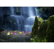 Waterfall in Moserrate Photographic Print